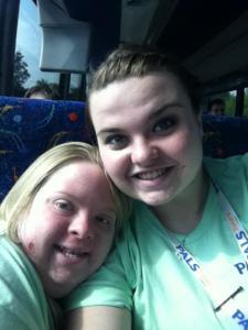 Michelle with Lauren last Memorial Day Weekend