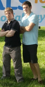 Mike and Jon at the Memorial Weekend program last year