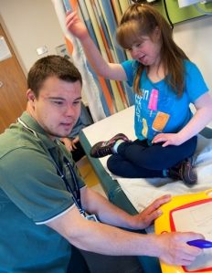Nate working at Boston Children's hospital. Image via http://bit.ly/13JzdZi