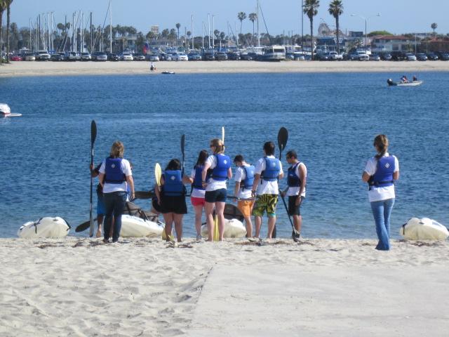 Beach Life in Sunny San Diego.